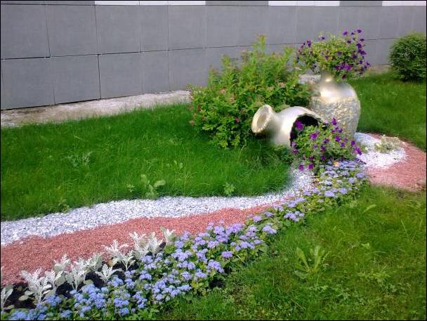 Использование гравия в ландшафтном дизайне