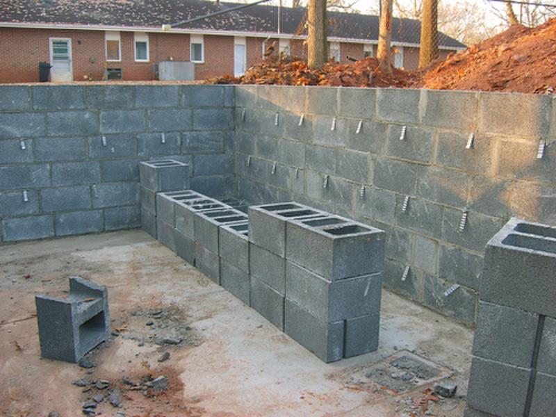 Стена из керамзитобетона своими руками 67